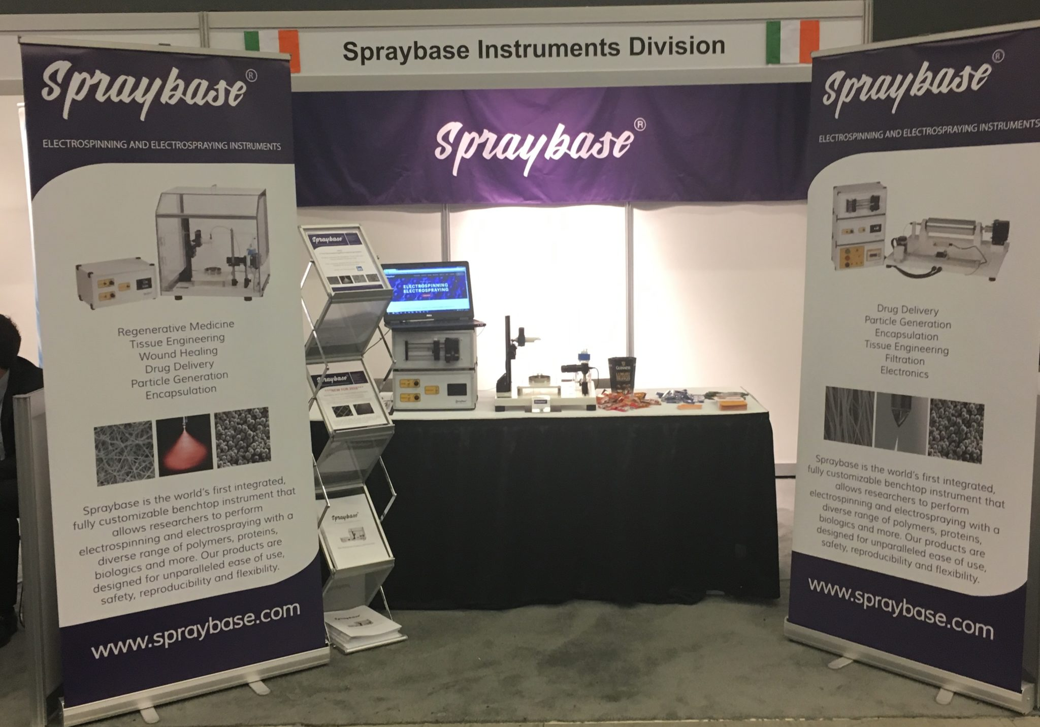 Avectas Spraybase booth at WBC2016