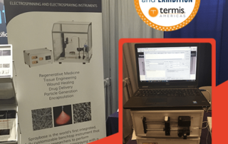 Avectus Spraybase and SyringePumpPro at TERMIS-AM 2016
