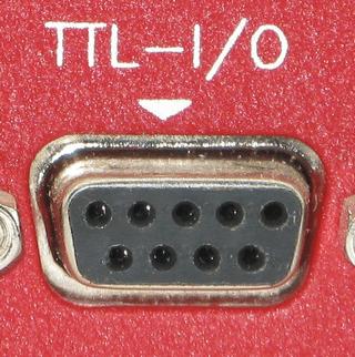Pump TTL Db9 Connector