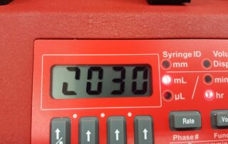 Syringe Pump Missing LCD Segment