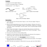 CBL-PC-PUMP Instructions